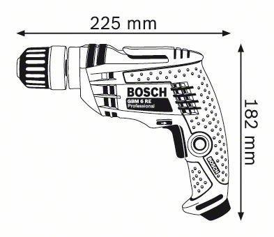 Bosch Profesyonel GBM 6 RE Darbesiz Matkap 0601472600