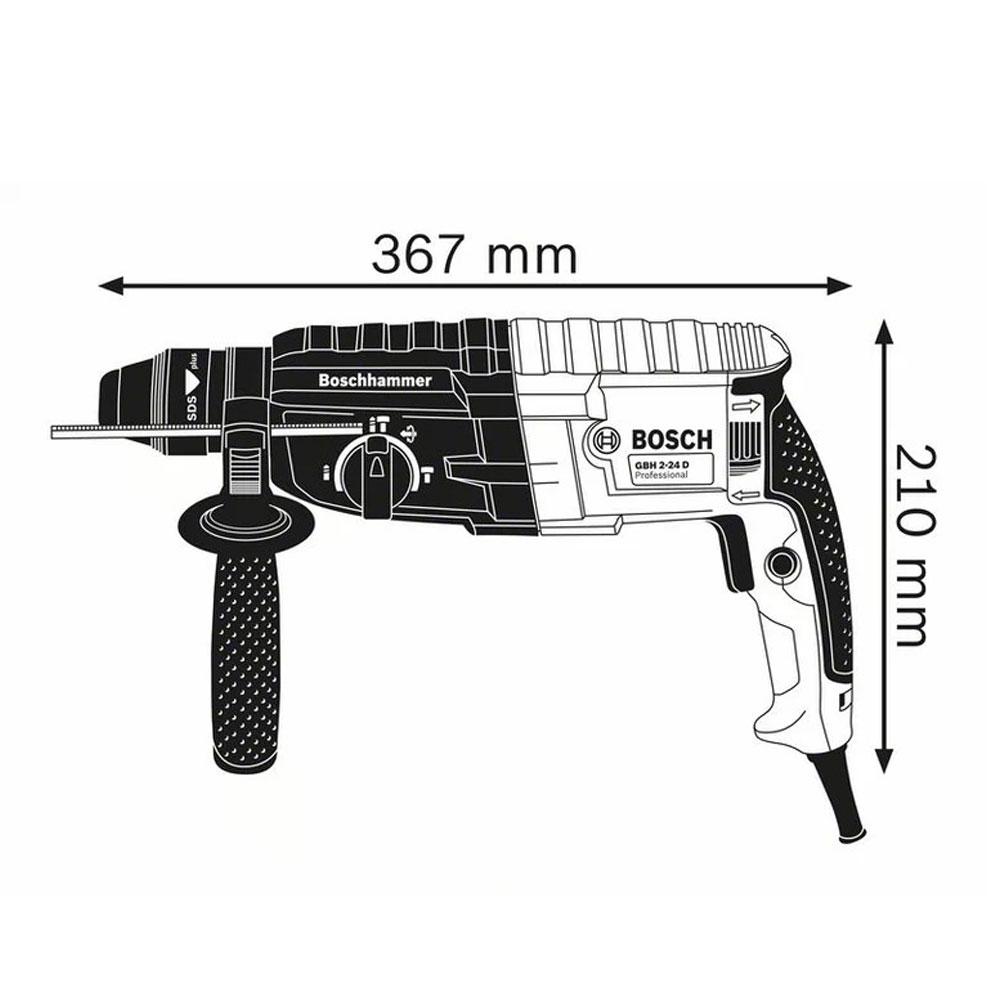 Bosch Professional GBH 240 (2-24 DRE) Kırıcı Delici 0611272100