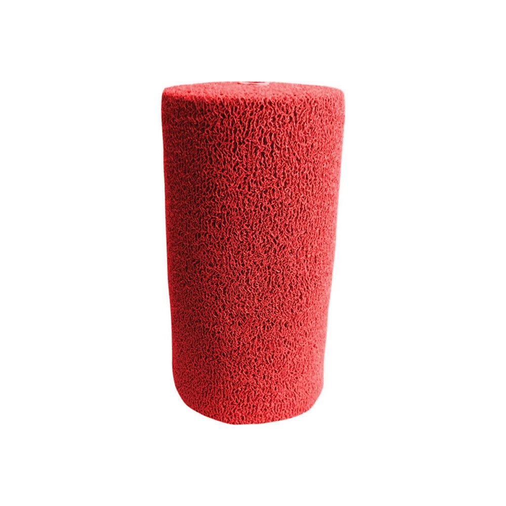 Kıvırcık Kaydırmaz Paspas 14 mm En 100 cm Kırmızı