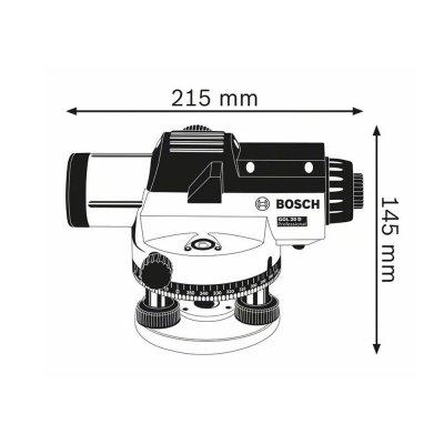 Bosch Gol 20 D Optik Nivelman (Bt 160 Tripod+Gr 500 Mira)