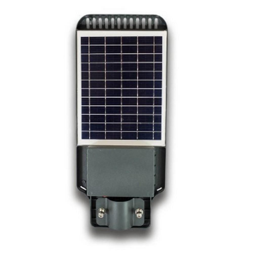 Aral Enerji 20W Güneş Enerjili Sensörlü Alüminyum Kaplama Entegre LED Sokak Lambası (Gün Işığı)