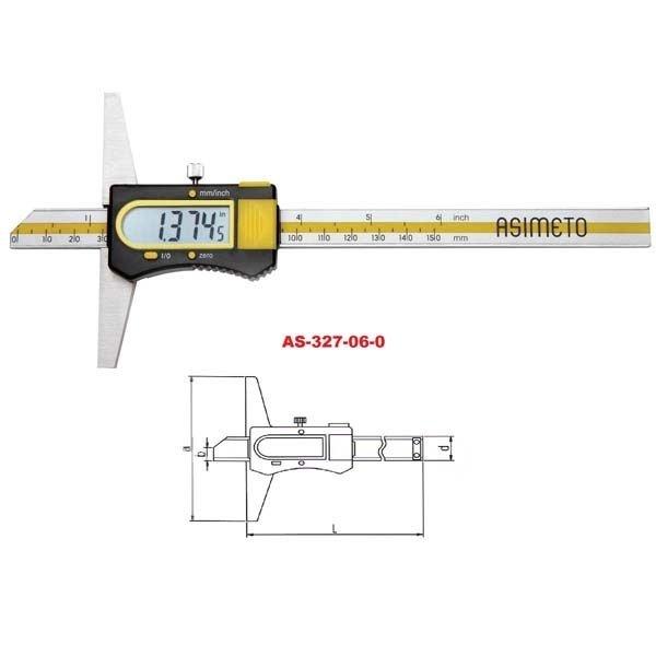 Asimeto Dijital Derinlik Kumpası AS327060