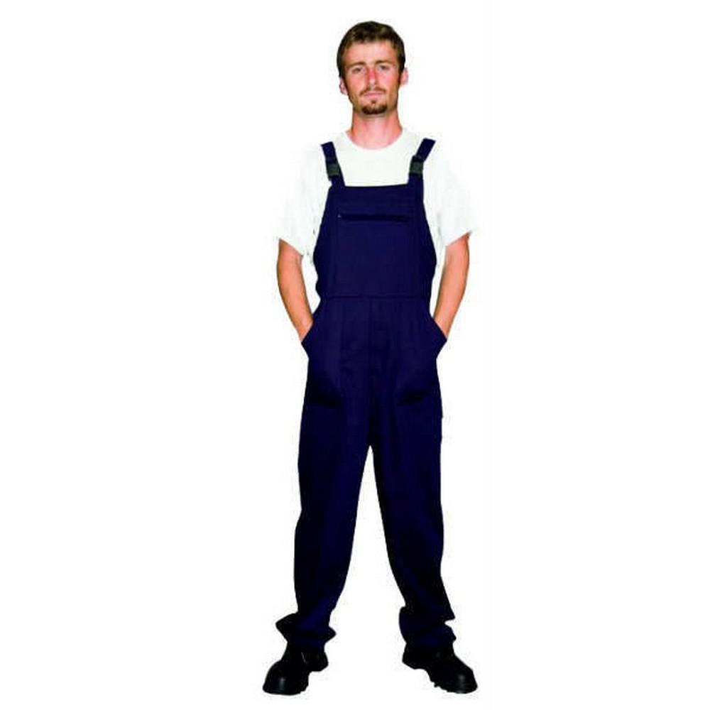 Bahçıvan Tulumu İş Elbisesi Askılı Tulum Lacivert XXL