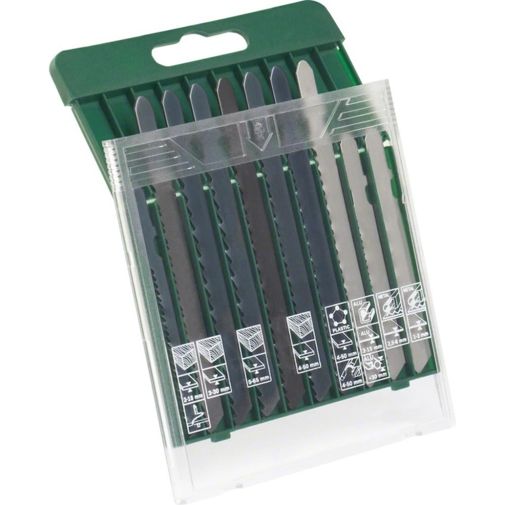 Bosch 2607019461 DIY 10 Lu Karışık Dekupaj Testere Seti