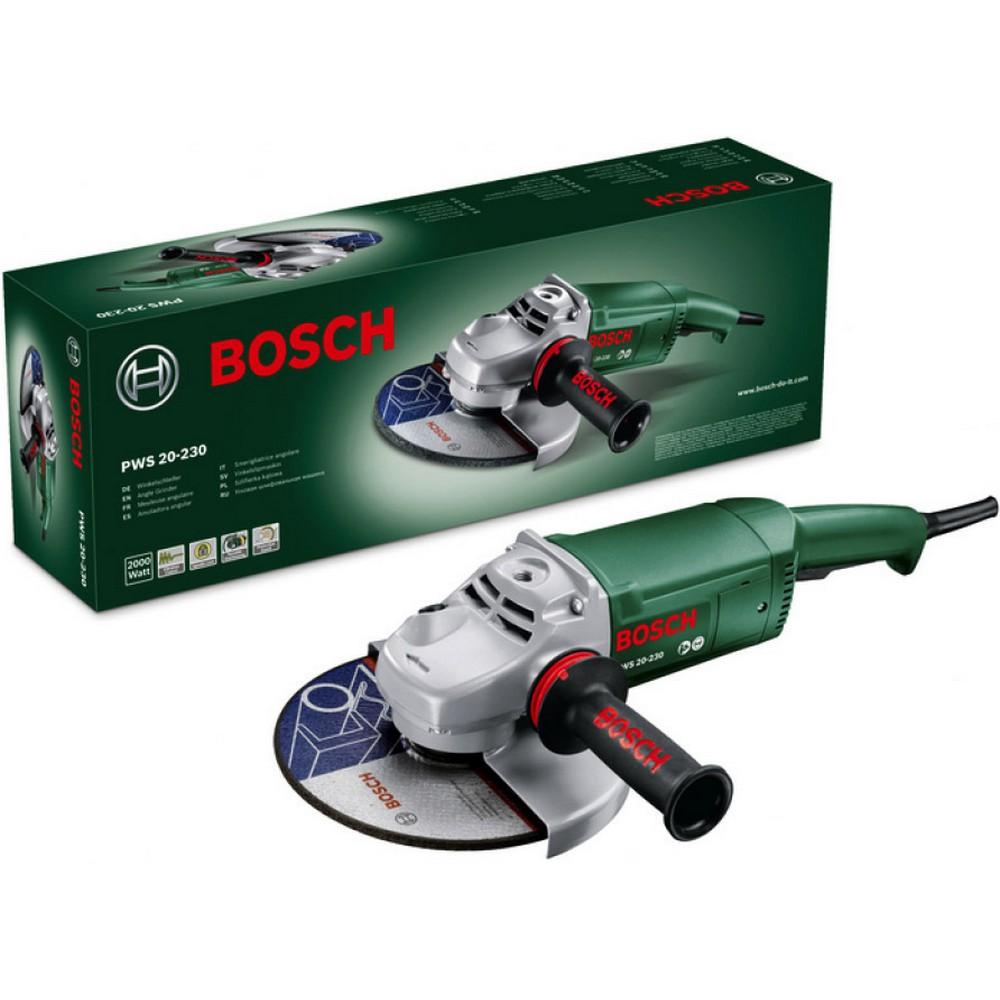 Bosch PWS 20-230 Taşlama Makinası 2000 Watt 230 mm