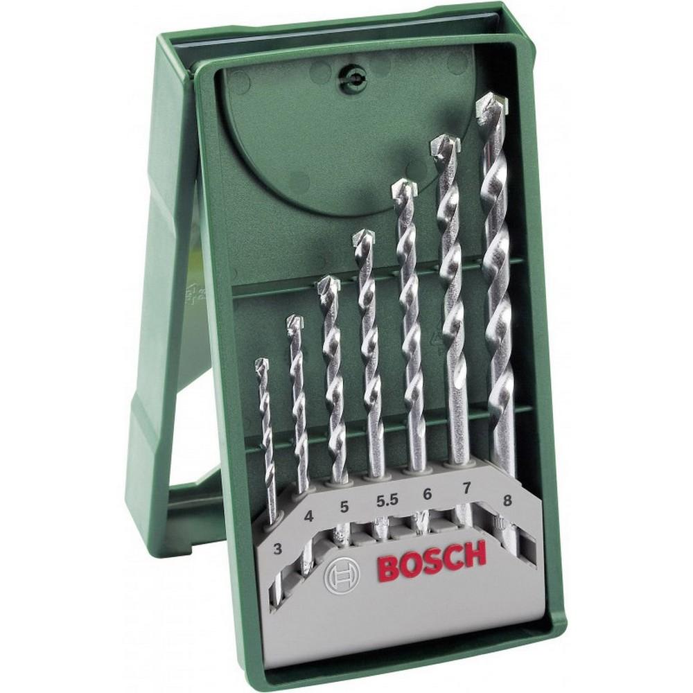 Bosch 2607019581 X-Line 7 Parça Beton Matkap Ucu Seti