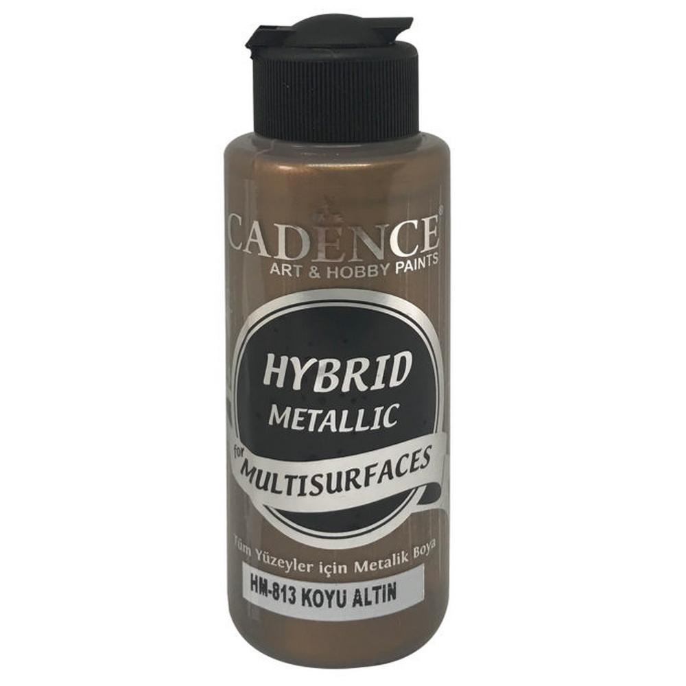 Cadence HM813 Metalik Koyu Altın - Multisurfaces 120ml