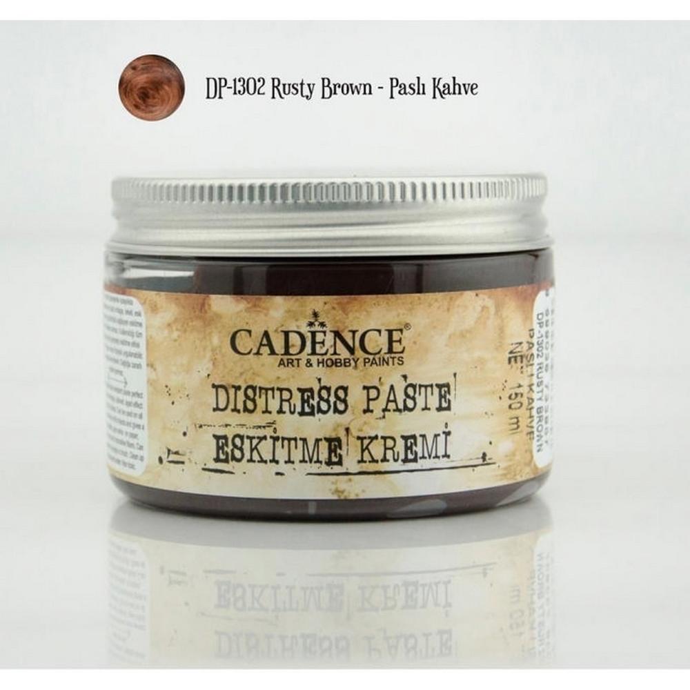 Cadence DP1302 Paslı Kahve - Eskitme Kremi