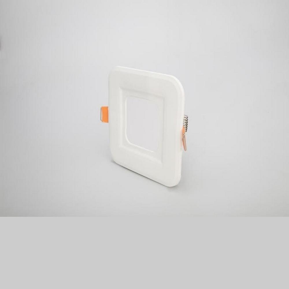 Cata 3W Panel Led Armatür CT-5134 - Beyaz Işık - Alüminyum