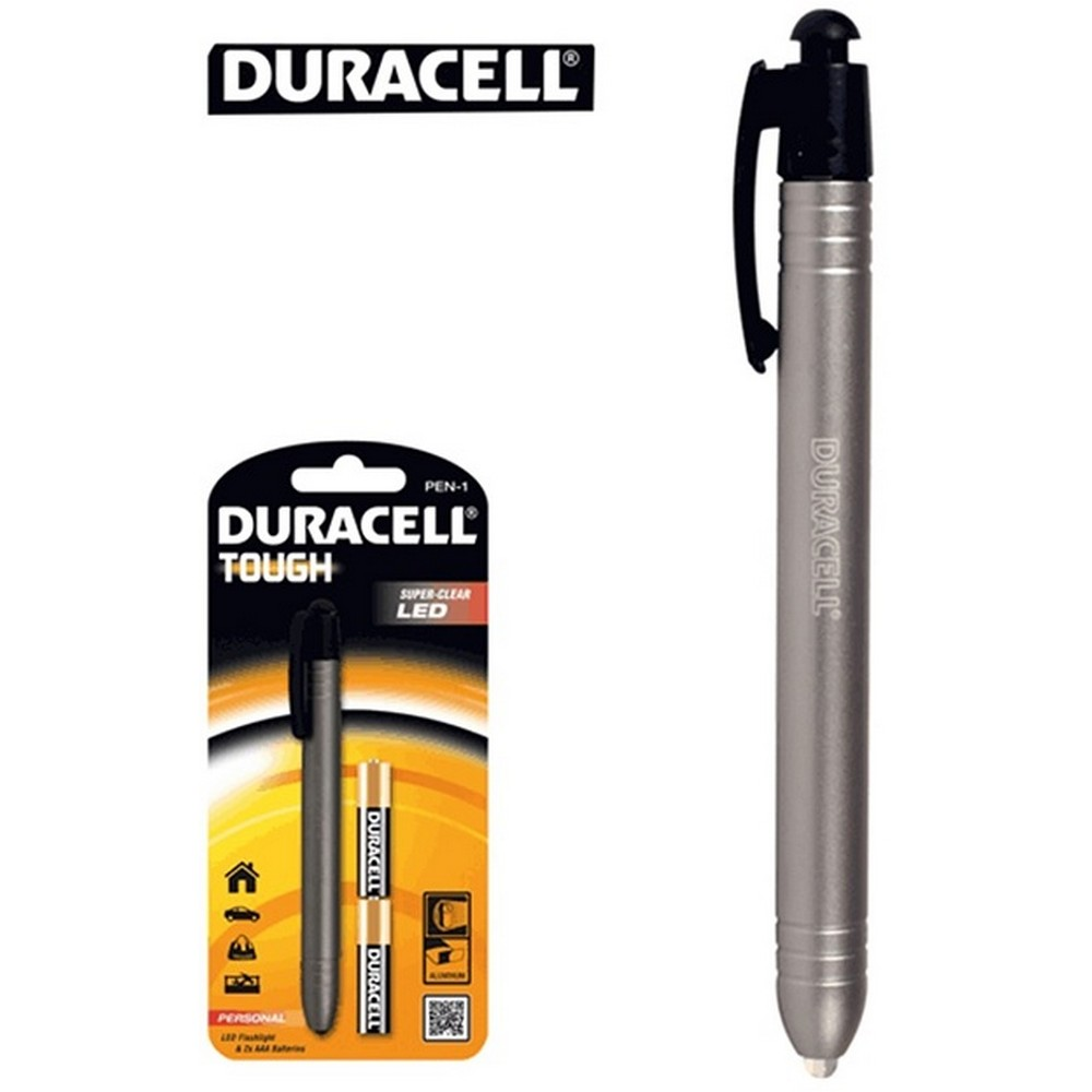 Duracell Tough Pen - 1 LED - Pilli El Feneri