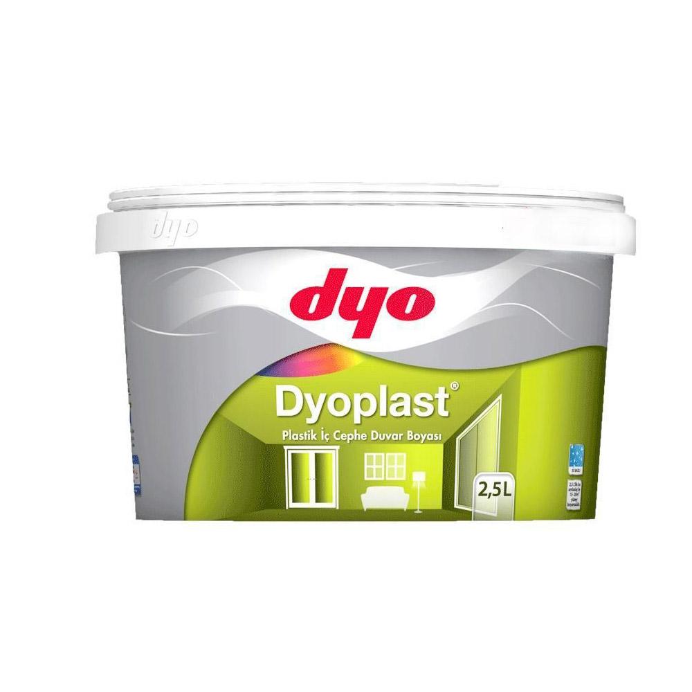 Dyo Dyoplast Plastik İç Cephe Boyası 2,5 Litre Siyah