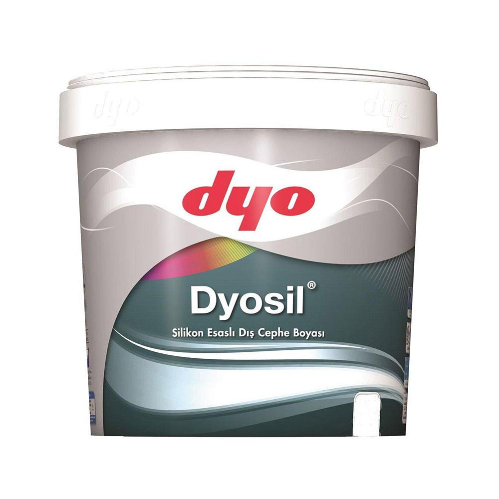 DYO Dyosil Silikonlu Dış Cephe Boyası 2,5 Litre Beyaz