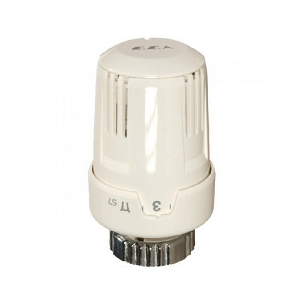 ECA Termostatlı Radyatör Vanası TRV3 Beyaz 602120530