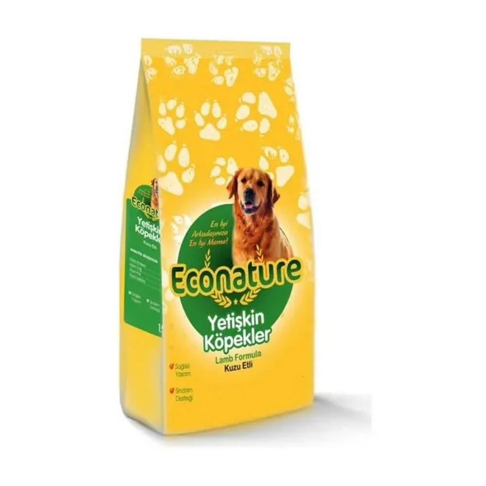 Econature Econature Kuzu Etli Yetişkin Köpek Maması 1 Kg Açık Mama