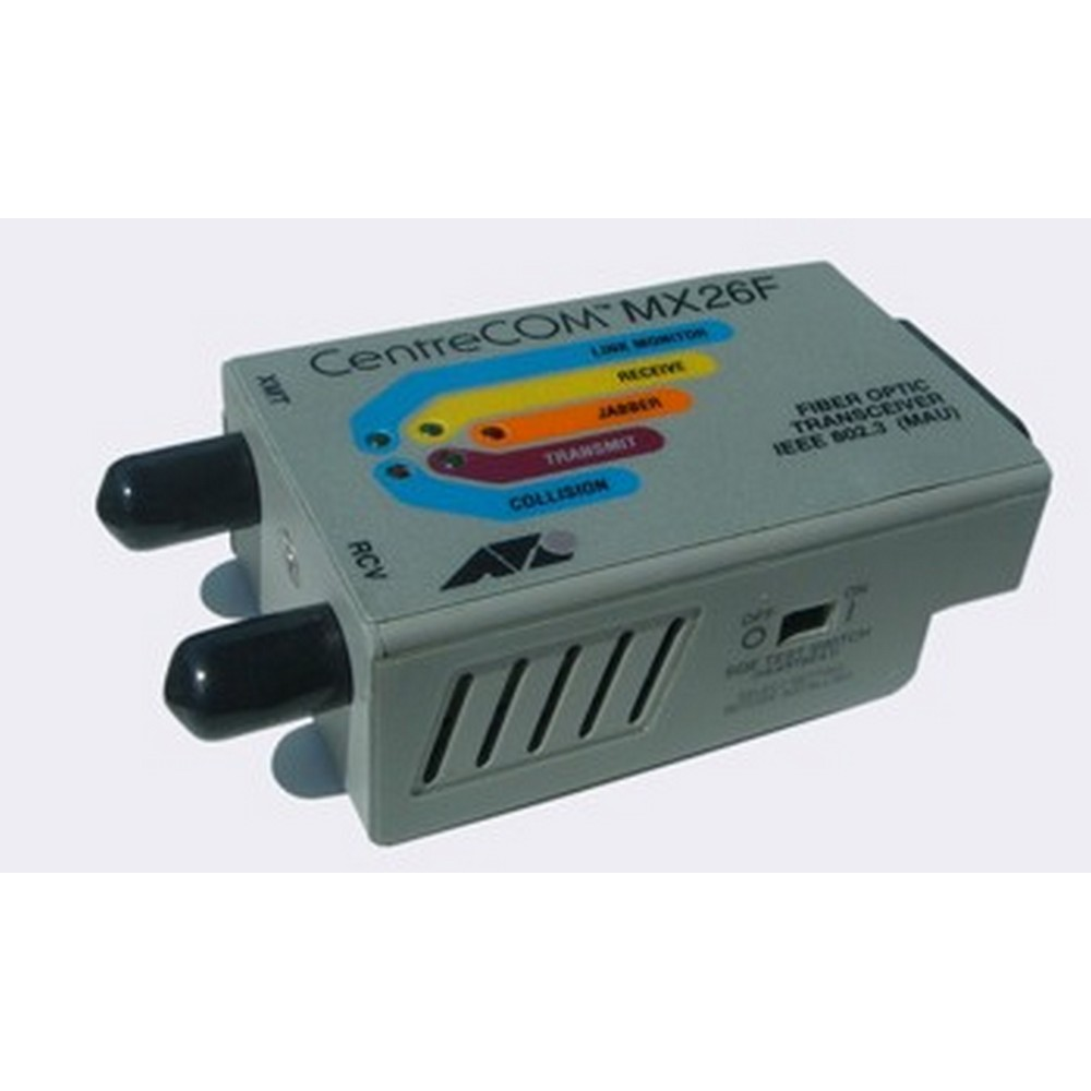Allied Telesis Micro-transceiver, 10BaseFL (Multi Mode, ST connector)
