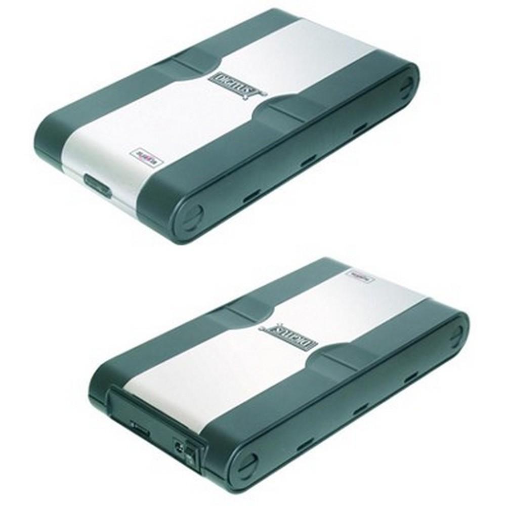 Digitus 3,5 Inch SATA HDD için 3,5 Inch Harici Kutu, nPlastik/Alüminyum, nBağlantı arayüzü SATA,nVidalı Montaj özelliği