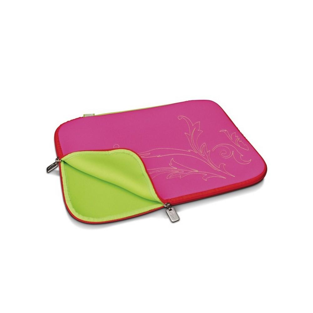 Digitus Slimbag Candy Threat Notebook Çantası Pembe-Kırmızı