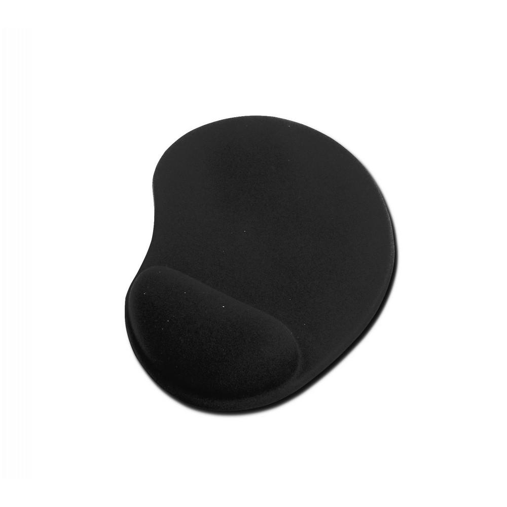 Ednet Mouse Pad ve Mouse Bilek Yastığı (Mouse-Wrist Pad), Siyah renk, Polyester kumaşlı