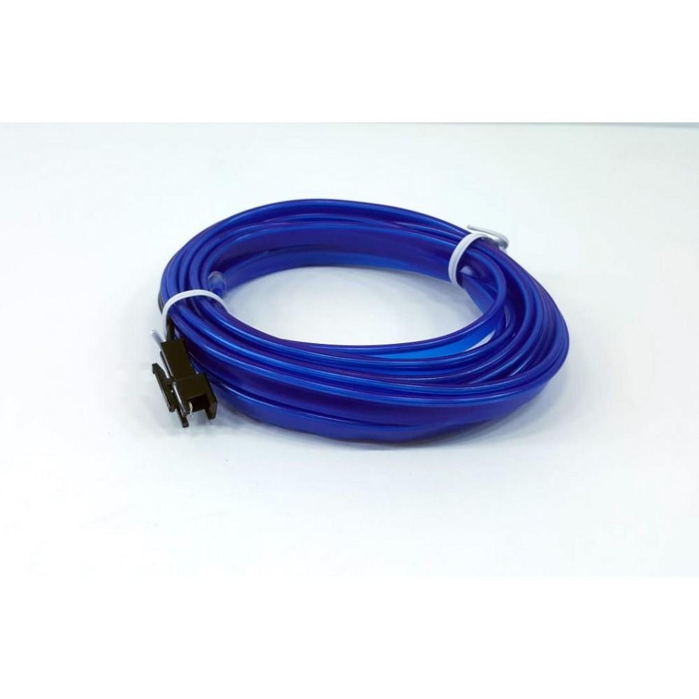 Femex 3 Metre Elwire İp Neon Led Fitili - Mavi