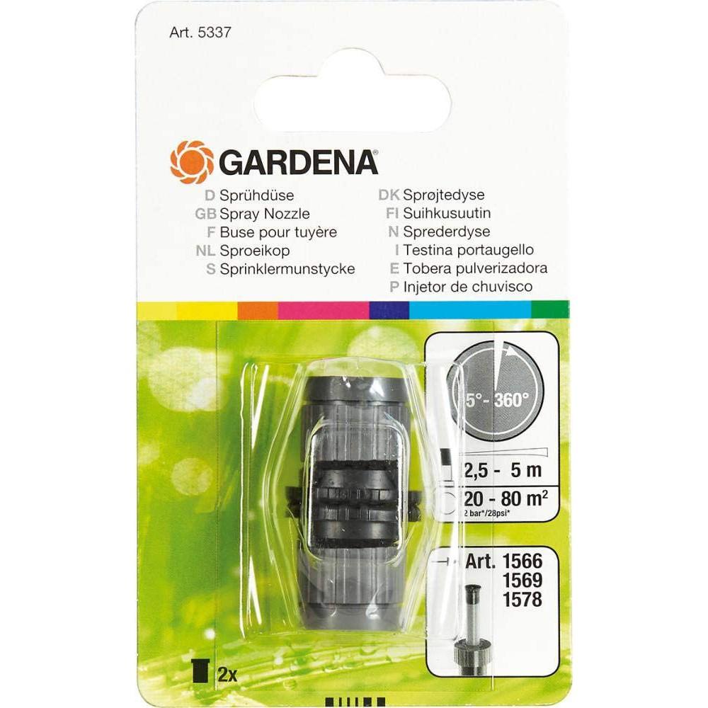 Gardena 5337-20 Püskürtme Memesi 5-360 Derece 2 li Paket