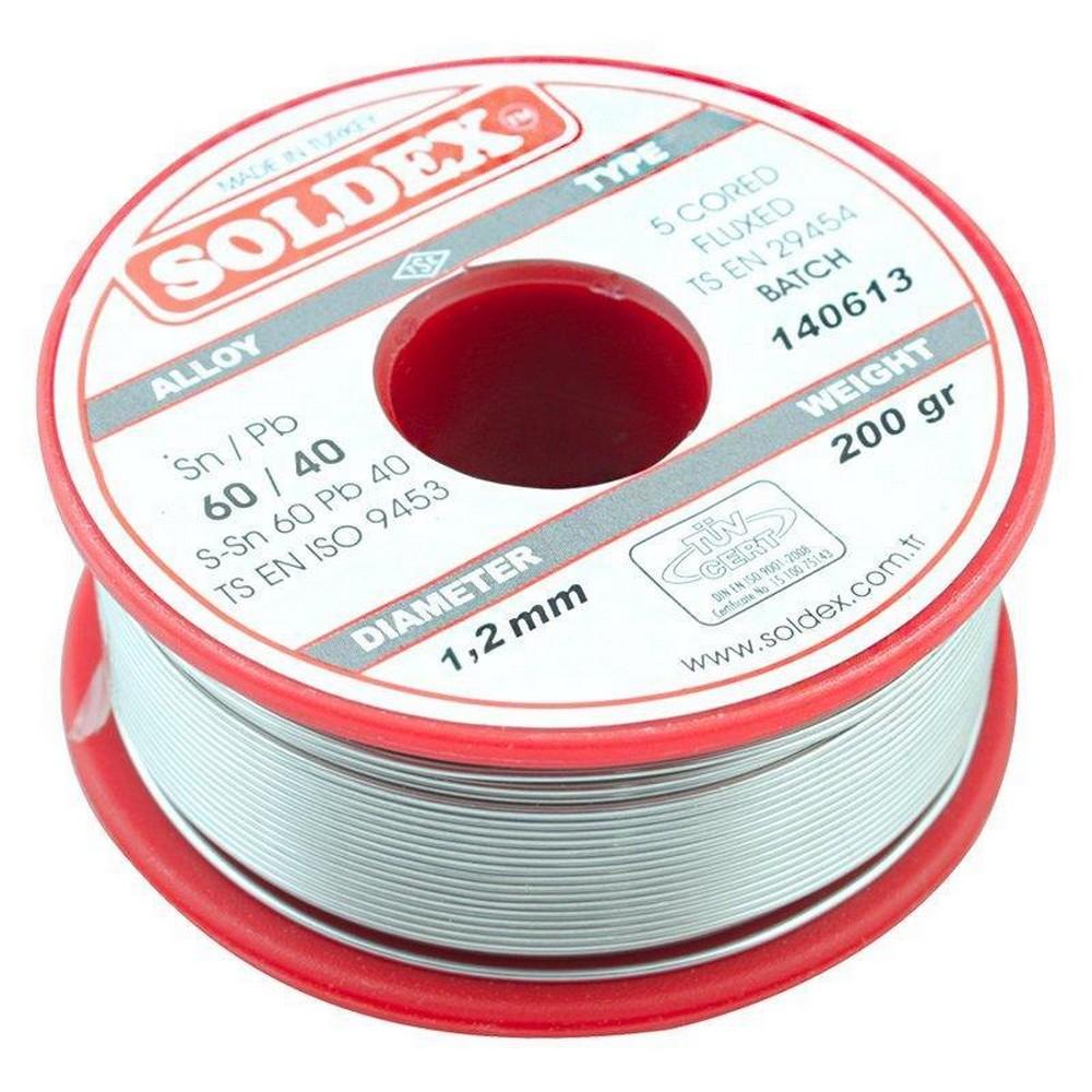 Soldex 200 Gr Lehim Teli 1.2 mm