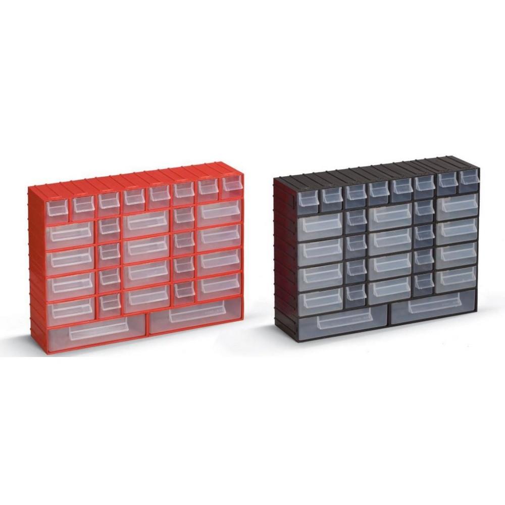 Portbag PH02 Hobby Çekmece Seti Kırmızı