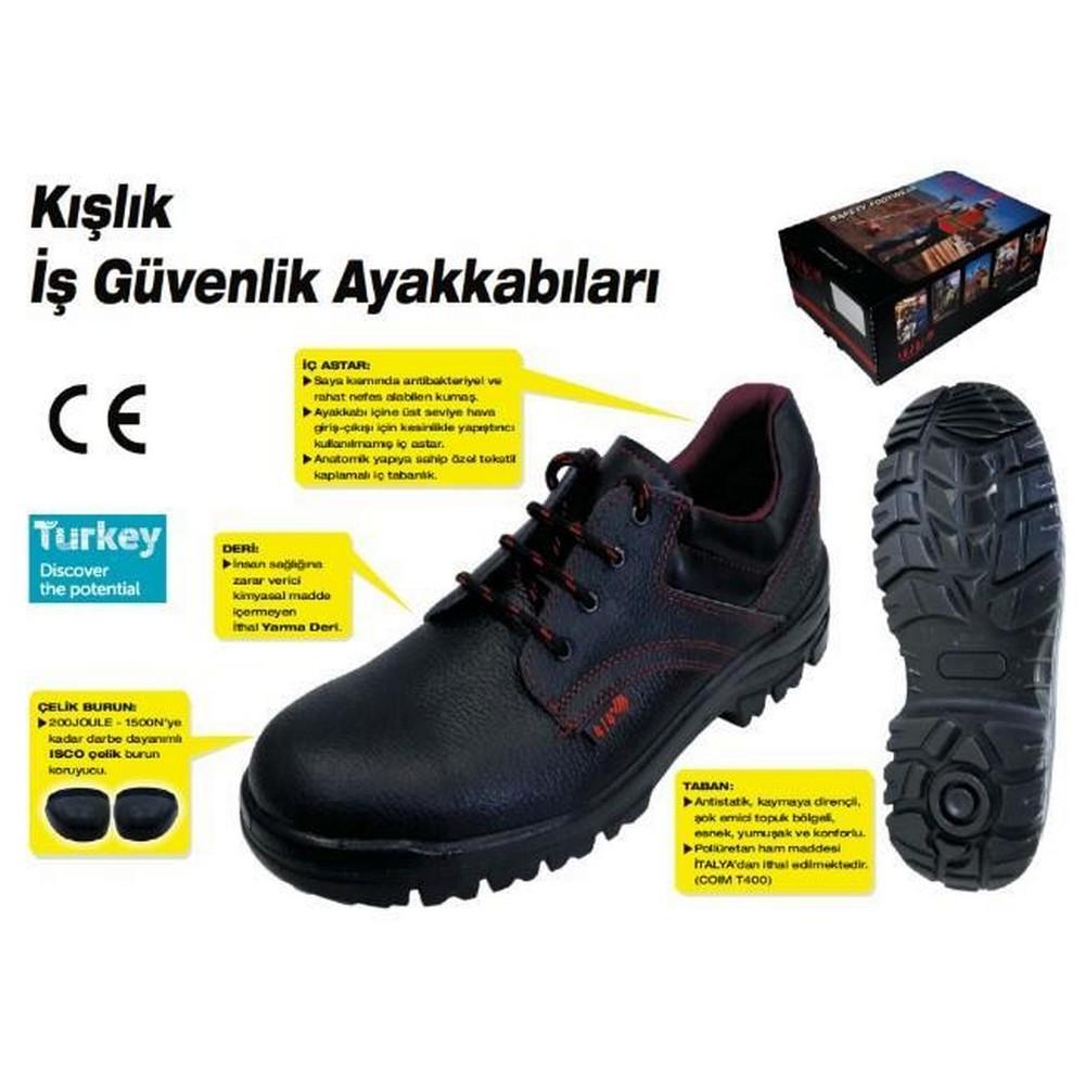 414 Çelik Burunlu İş Ayakkabısı S2 41 Numara