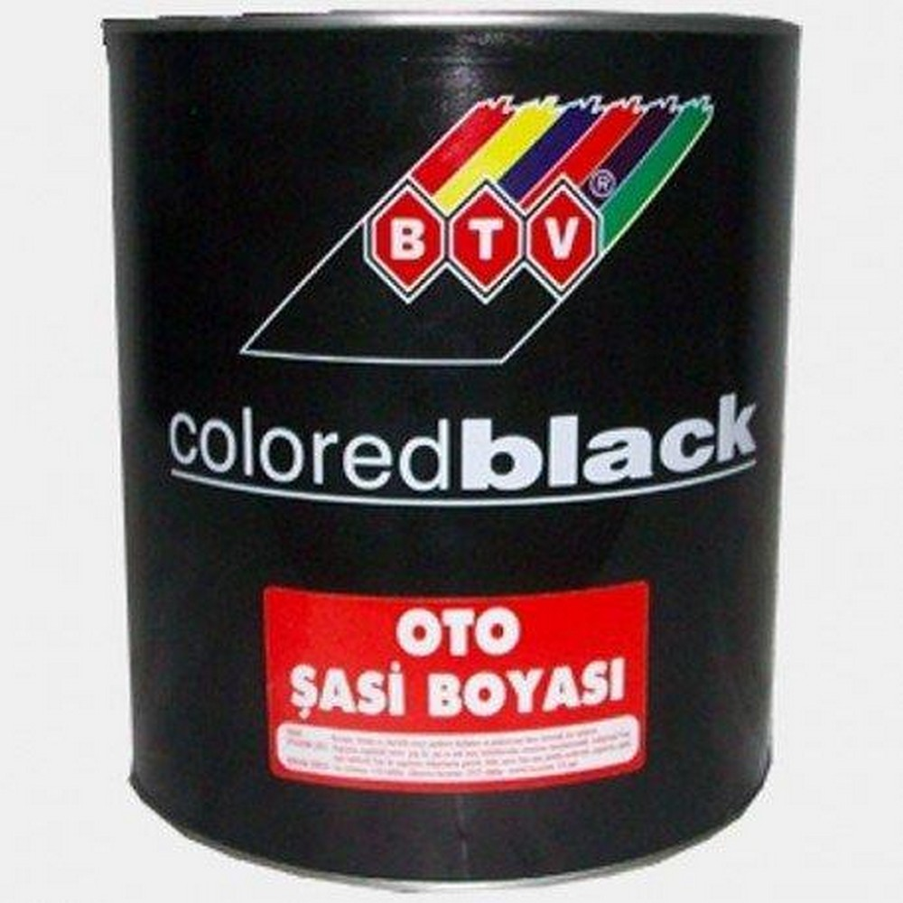 BTV Oto Şasi Boyası 3 kg Siyah
