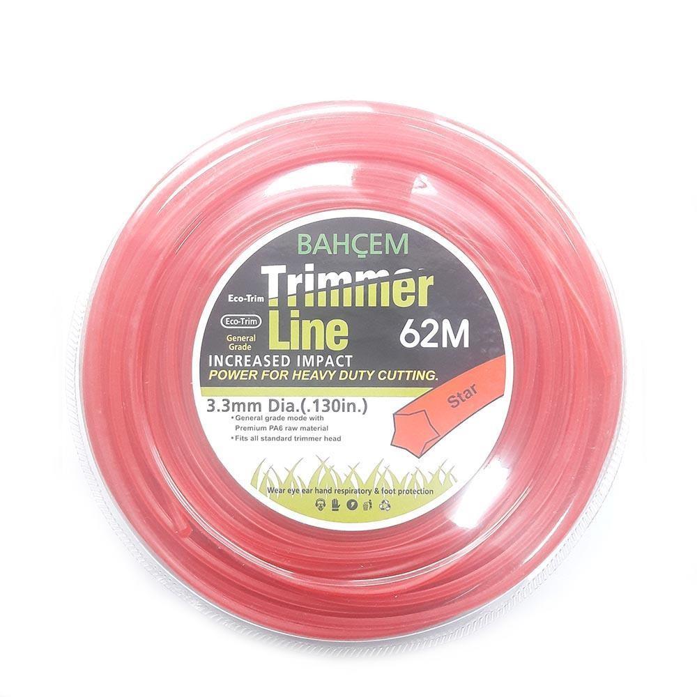 Bahçem Trimmer Line Beşgen Misina 3,3 mm 62 mt