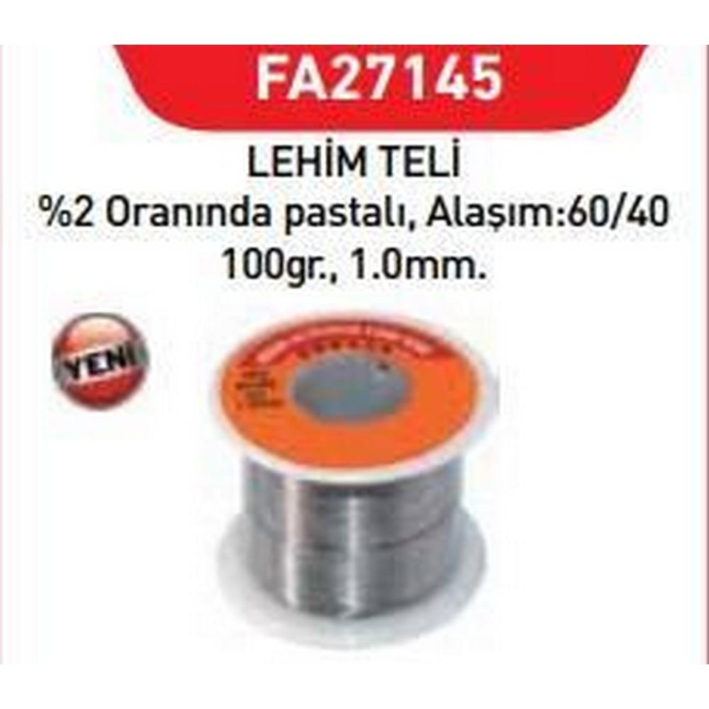 Fastbond 27145 Lehim Teli 1 mm 100 gr