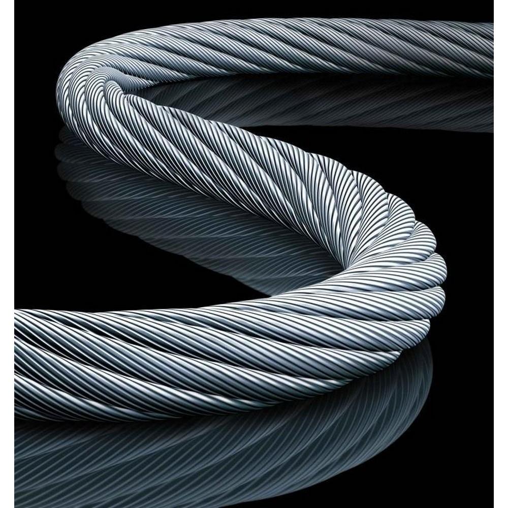 Çelik Halat 3 mm 1 Metre 6X7