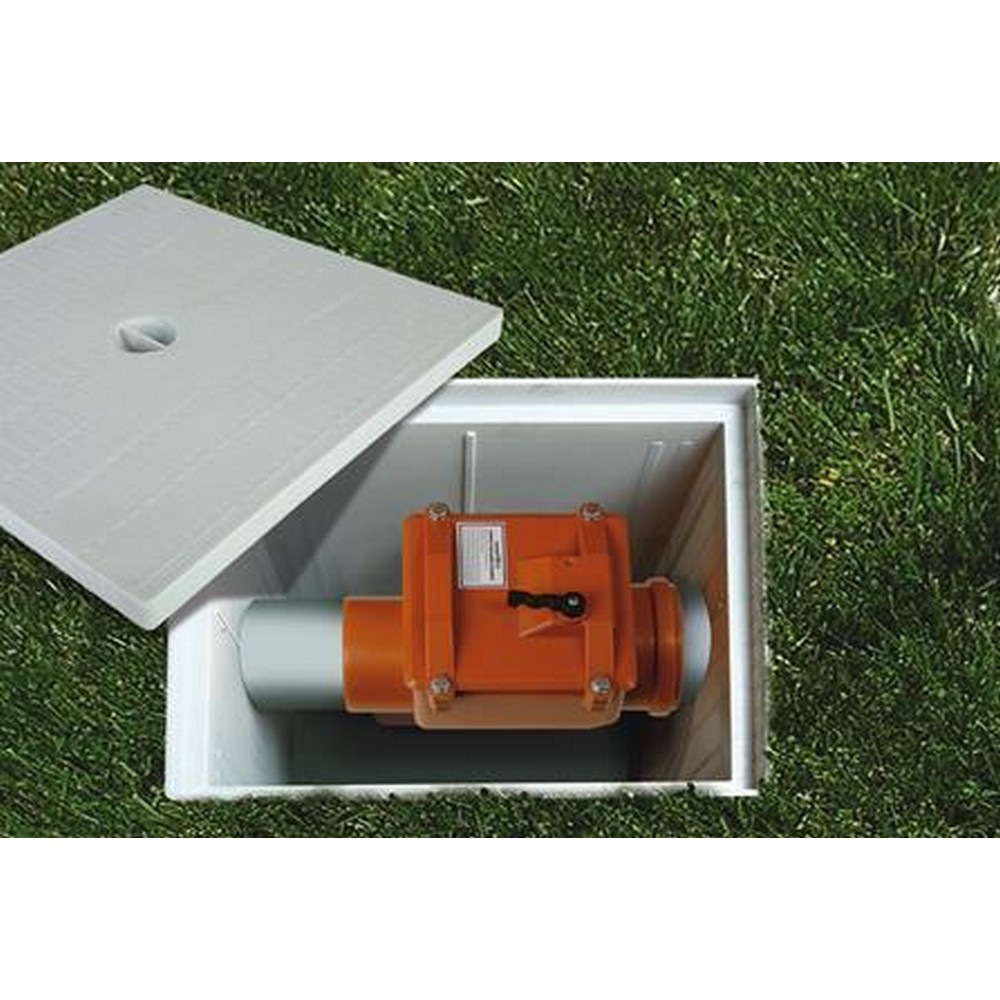 PVC Pissu Atıksu Çekvalfi 150 mm Kilitli