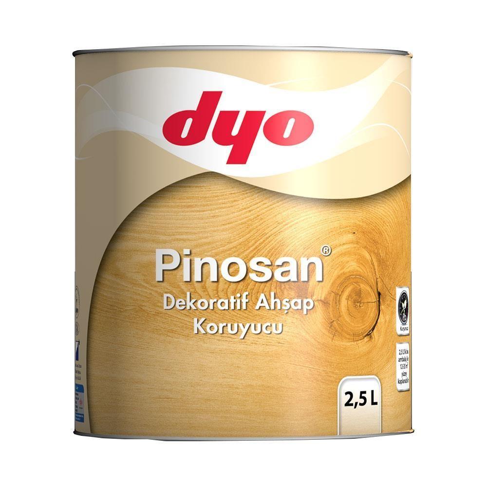 Dyo Pinosan Dekoratif Ahşap Kor. 2,5 Lt Klasik Ceviz