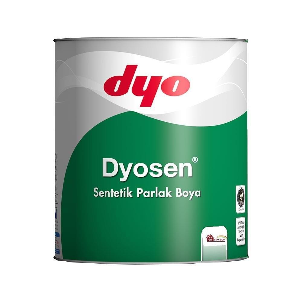 Dyo Dyosen Sentetik Parlak Boya 2,5 LT Beyaz