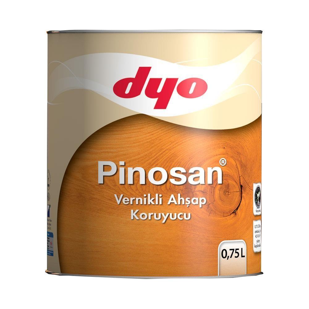 Dyo Pinosan Vernikli Ahşap Kor. 0,75 LT Tik