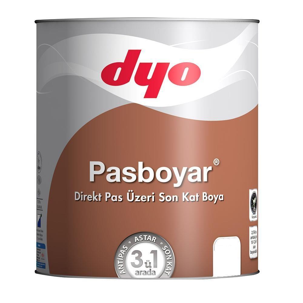 Dyo Pasboyar 2,5 Litre Alüminyum Gri Pasboyası