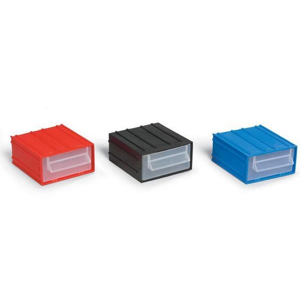Portbag PÇ011 Çekmece Mavi-Kırmızı