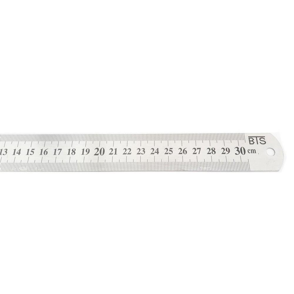 BTS 12255 Çelik Cetvel 30 cm 20 mm