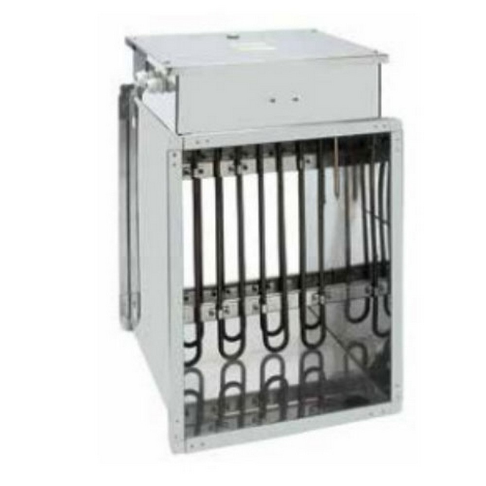 Thermosys Dikdörtgen Kanal Tipi Elektrikli Isıtıcı Kontaktör ve Emniyet Termostatlı 12 kW