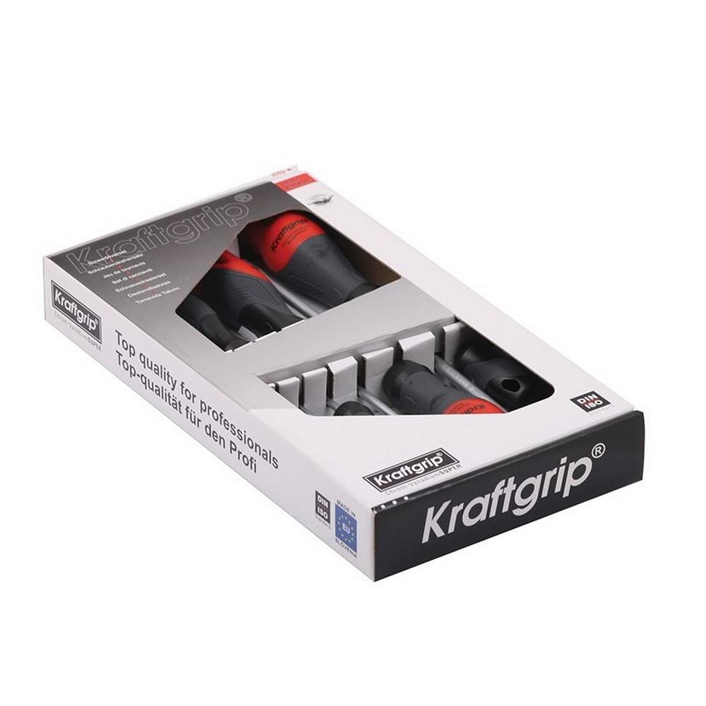 Kraftgrip Profesyonel Tornavida Seti Torx Uçlu ( 7 Parça ) - 43903