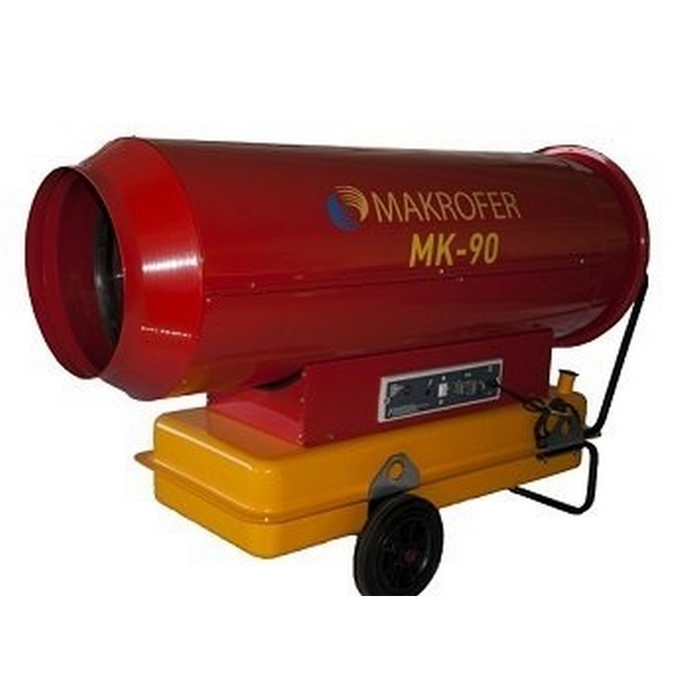 Makrofer MK-90 Mazotlu Isıtıcı (Bacasız)