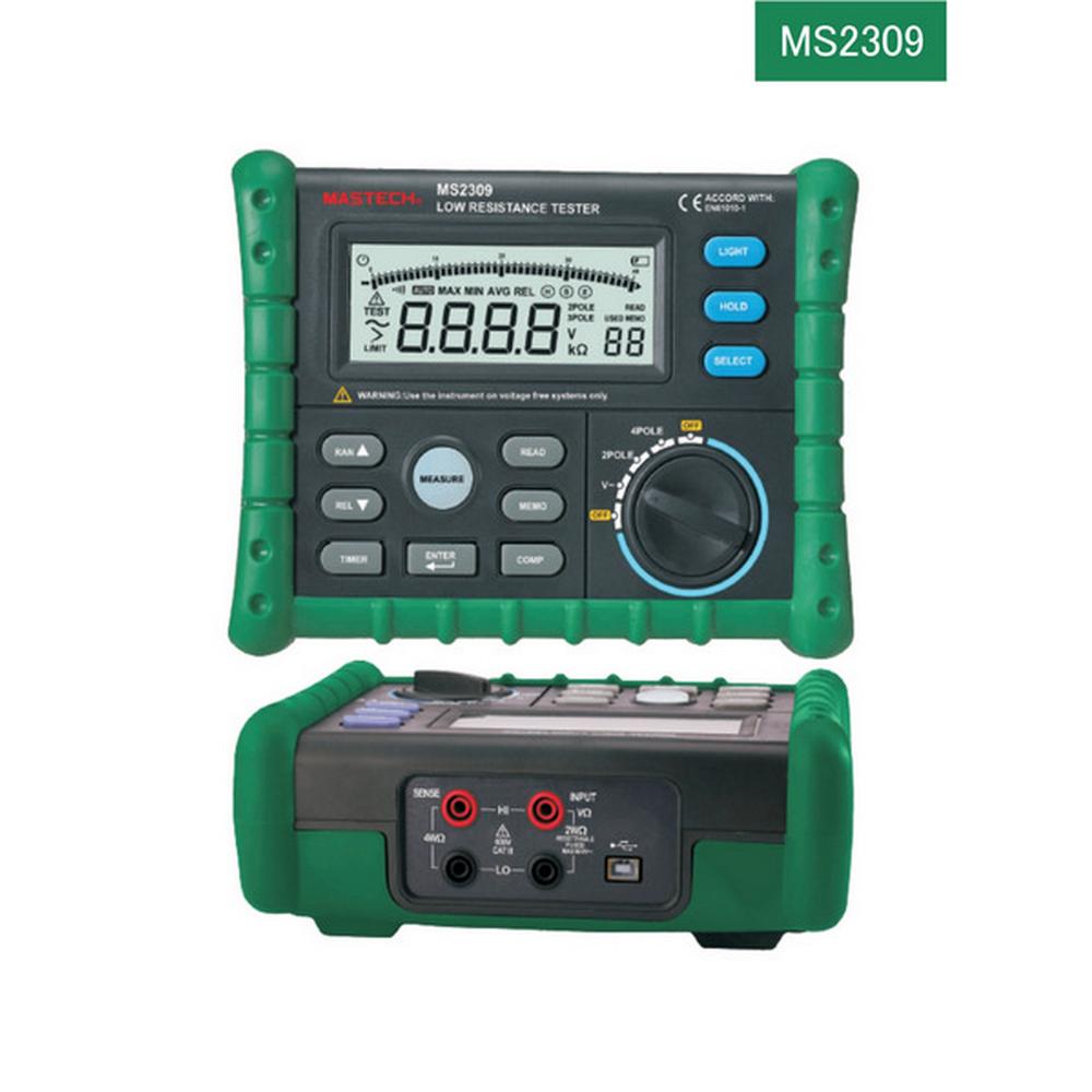 Mastech MS2309 Toprak Direnci Ölçer