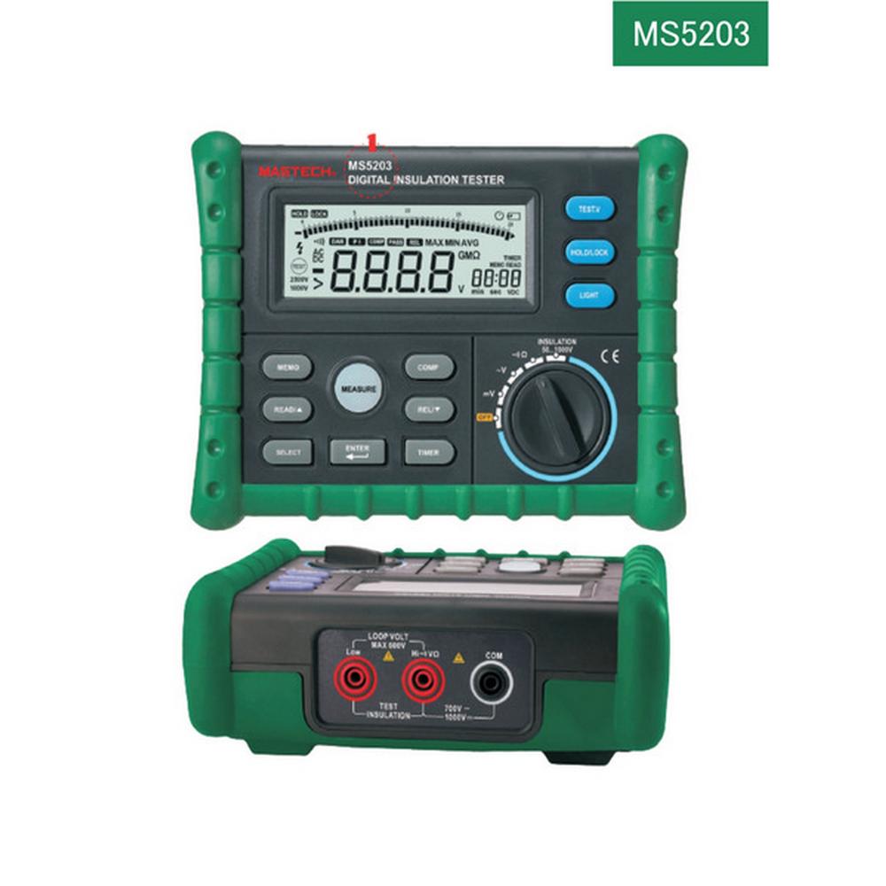 Mastech MS5203 İzolasyon Test Cihazı