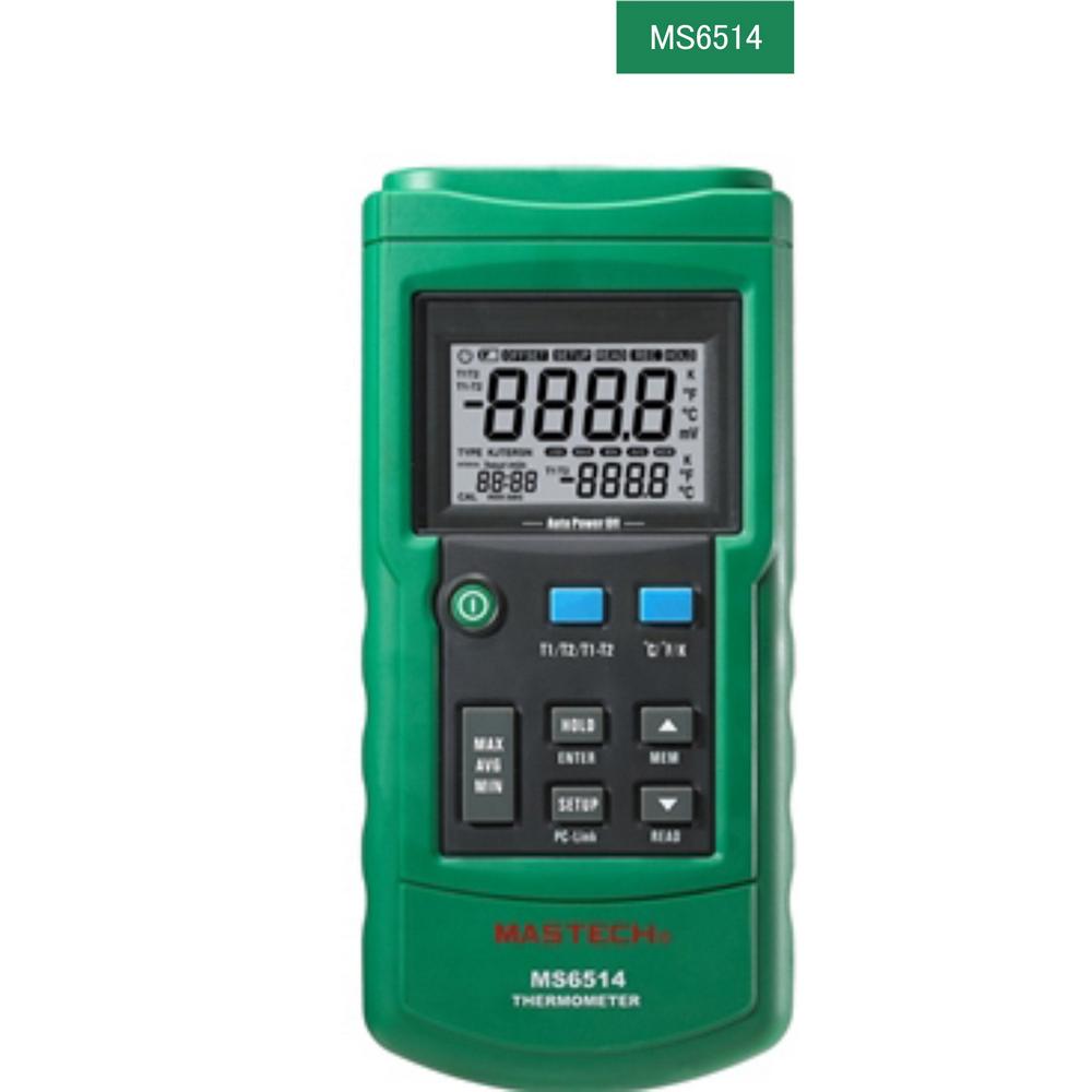 Mastech MS6514 Dijital Termometre