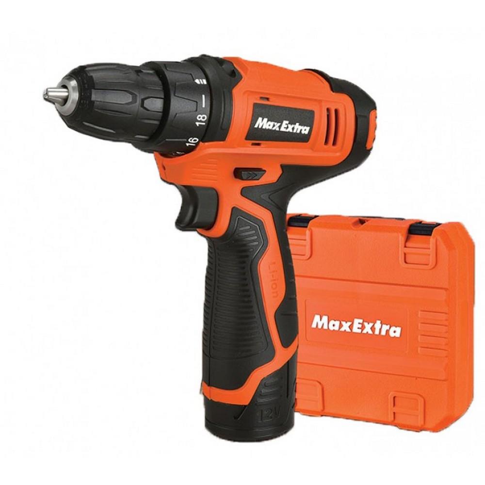 MAX-EXTRA MX1213 AKÜLÜ DELME VİDALAMA (2 AKÜ)
