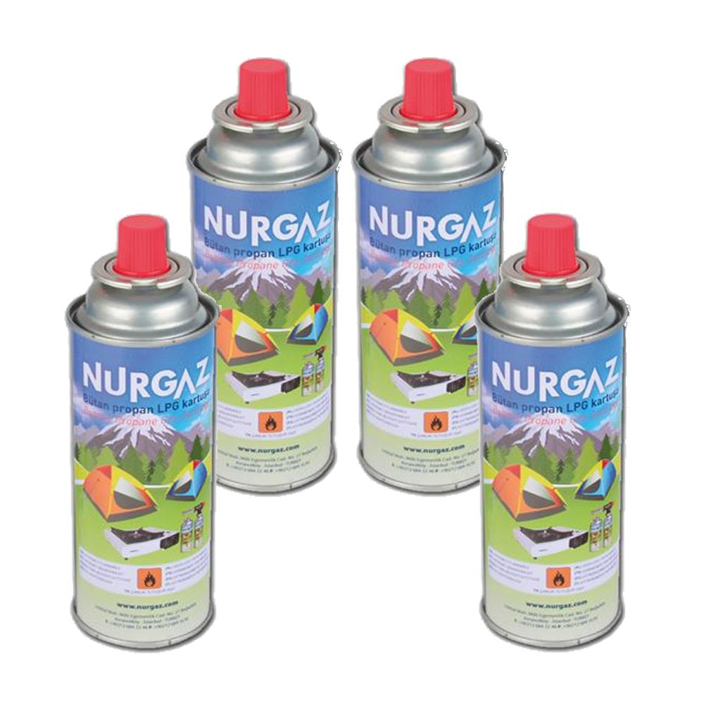 Nurgaz NG 207 Basınçlı Kartuş 220 gr 4 Adet