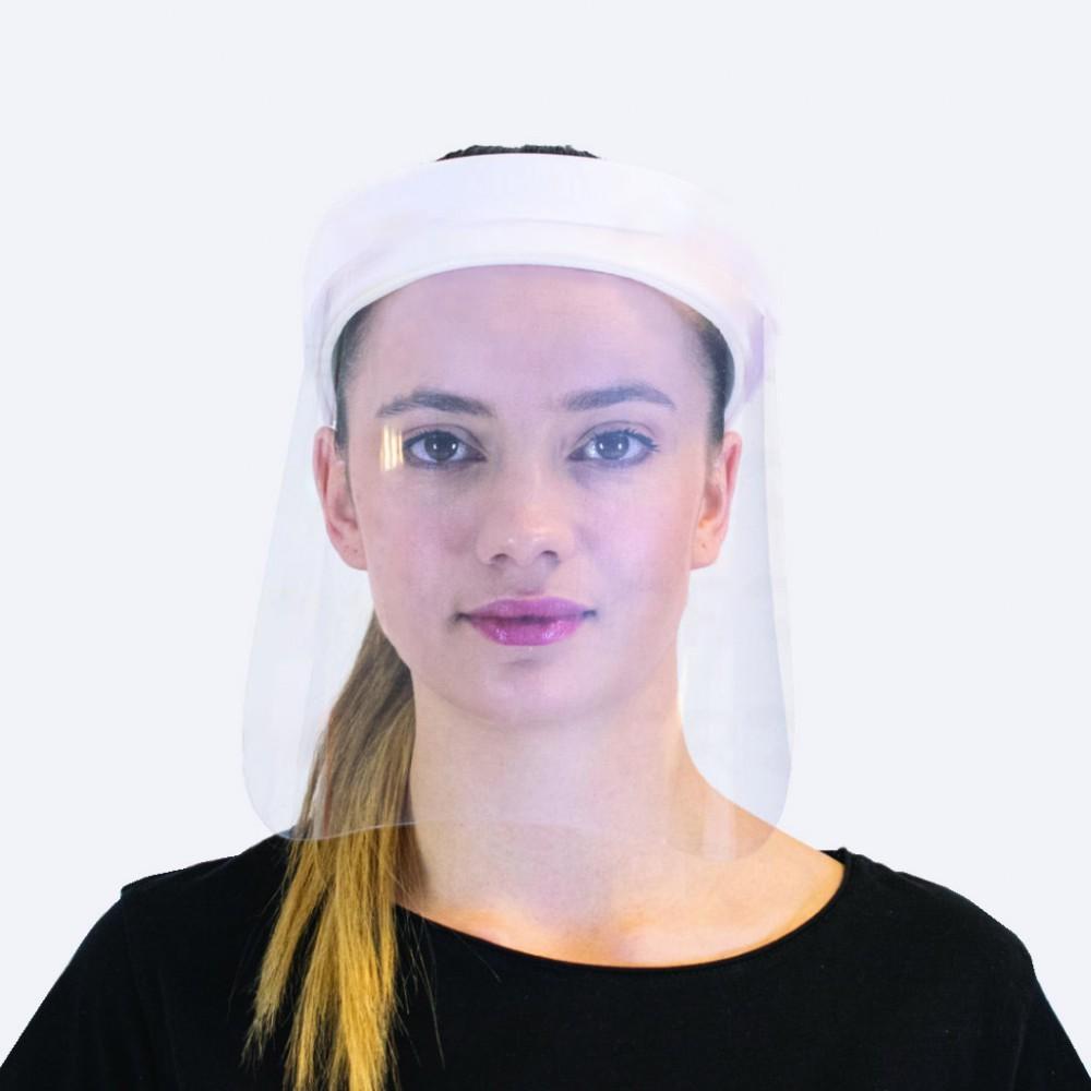 Pro Design Yüz Koruyucu Siperlik & Vizör Hediye (Beyaz)