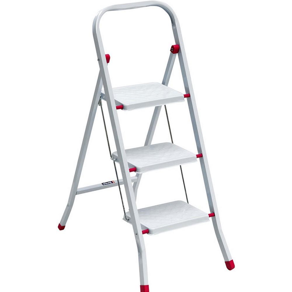 Saraylı Pratik Metal Merdiven 3 Basamaklı