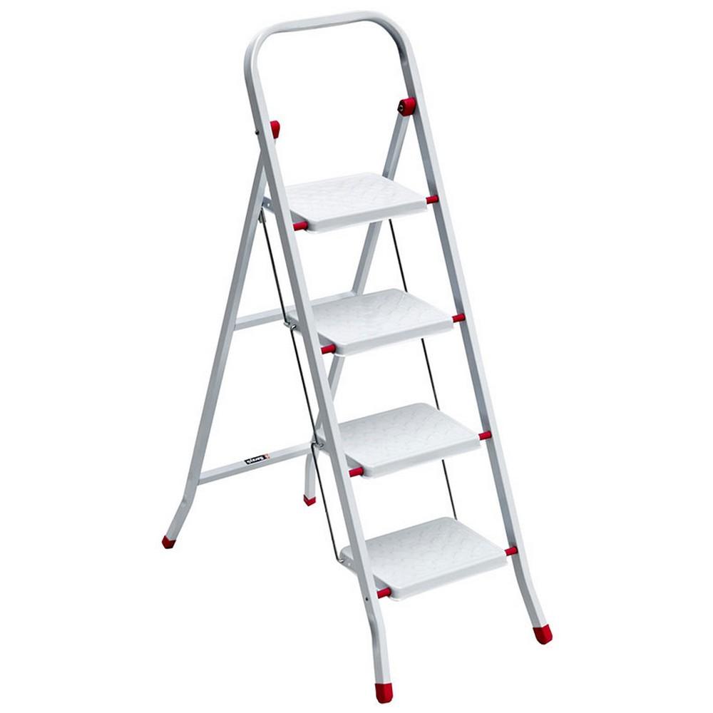 Saraylı Pratik Metal Merdiven 4 Basamaklı