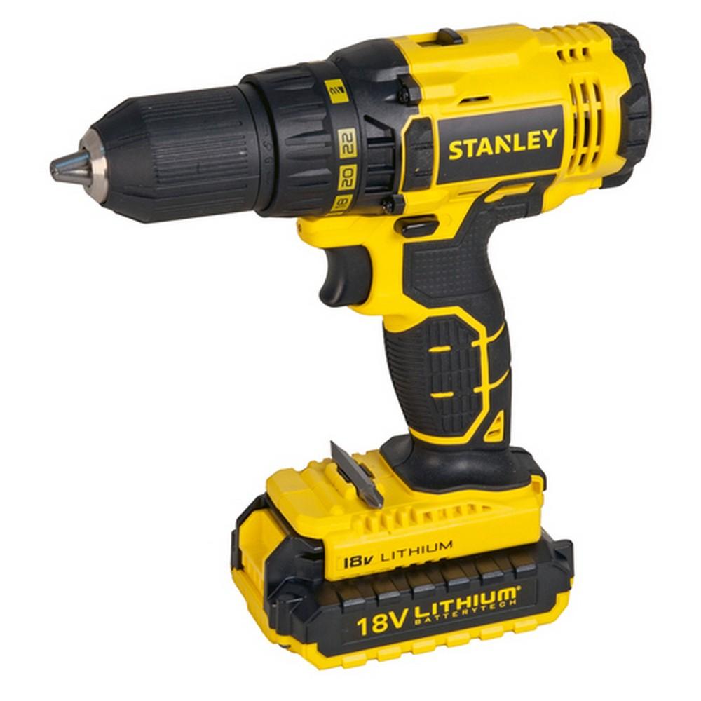 Stanley SCD201D2K Şarjlı Matkap (18V Li-Ion)